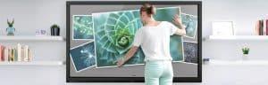 écran interactif et capacitif