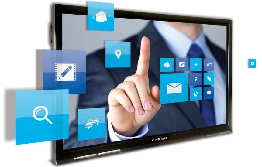 Utiliser windows sur l'écran interactif