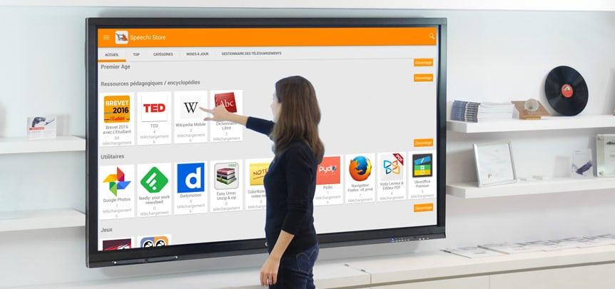 Avantages de l'écran interactif en entreprise